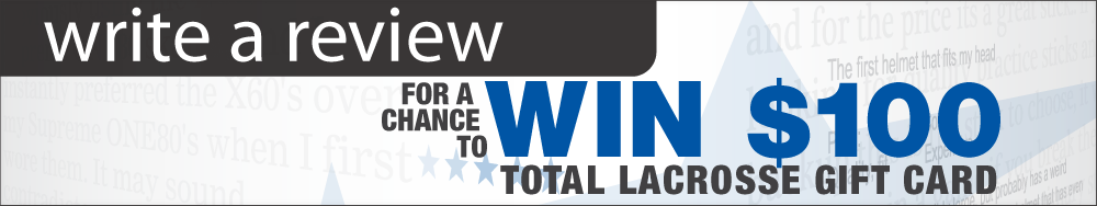 Write a review and win a Total Lacrosse gift card