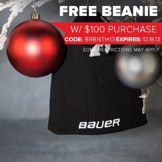 Free Bauer Beanie w/ $100 Purchase
