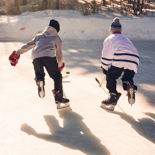 Pond Hockey Skates