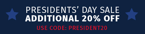 Presidents' Day Sale Banner