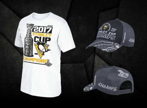Penguins Stanley Cup Gear