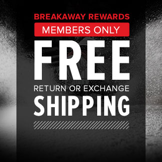 FREE Shipping for Breakaway Members