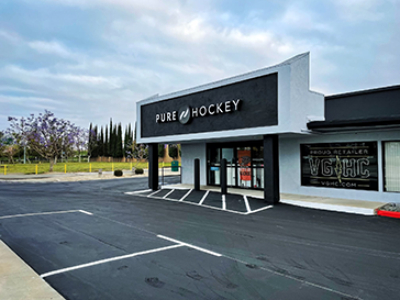 The Hockey Haven Superstore - site.