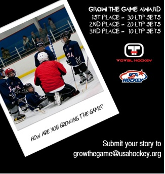 Pure Hockey / Total Hockey USA Hockey Grow The Game Award