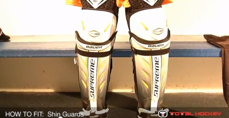 How To Fit Hockey Shin Guards