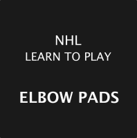 NHL Learn To Play Elbow Pads