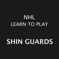 NHL Learn To Play Shin Guards