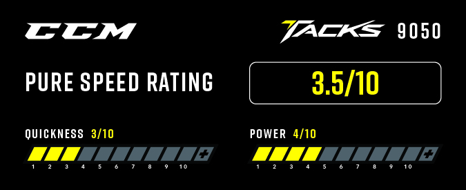 CCM Tacks 9050 Ice Hockey Skates - Pure Speed Rating